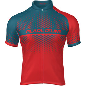 PEARL iZUMi Select Escape LTD Full Zip Jersey Men pearl izumi torch red/teal